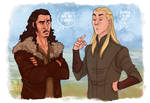LOTR - Badass elf by the-evil-legacy