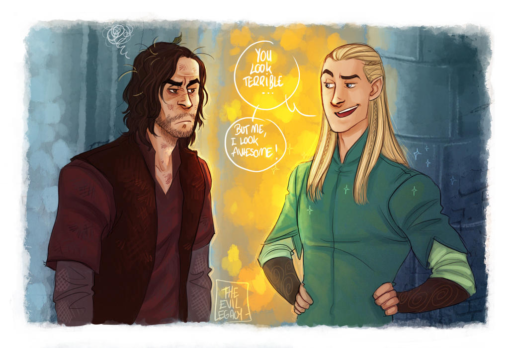 LOTR - You look terrible! by the-evil-legacy