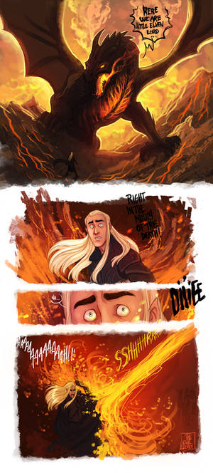 LOTR - Serpent Of The North (part1) by the-evil-legacy