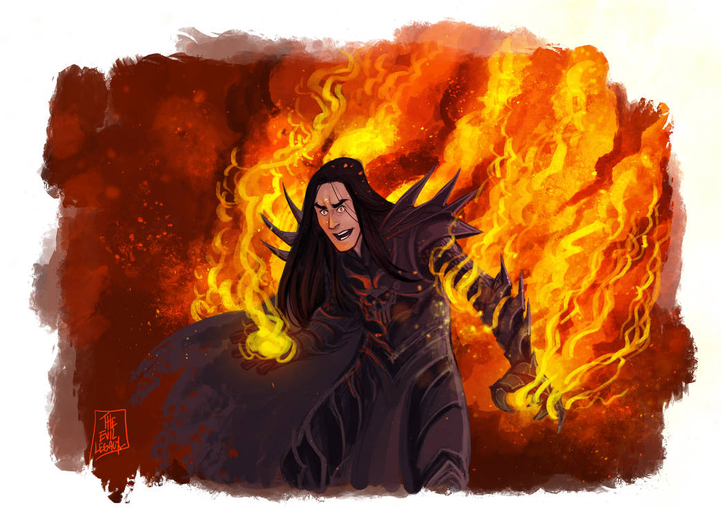 LOTR - Morgoth by the-evil-legacy