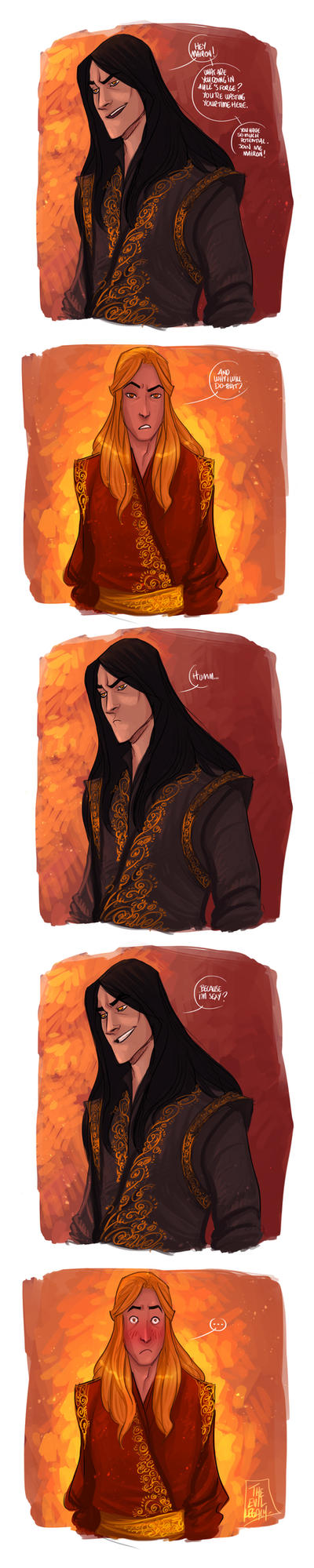 LOTR - Sexy Melkor by the-evil-legacy