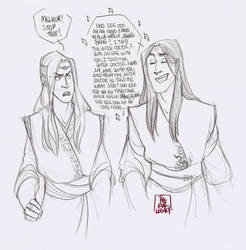 LOTR - Wrong Song by the-evil-legacy