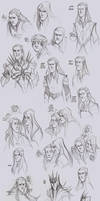 LOTR - Melkor and Mairon