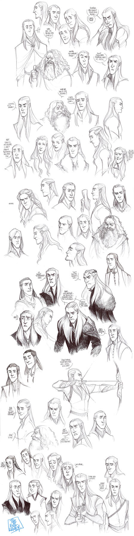 LOTR - Elves by the-evil-legacy
