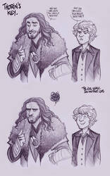LOTR - Thorin's Key by the-evil-legacy
