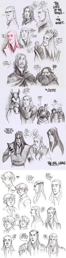 LOTR - lotst of elves