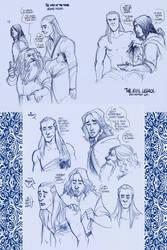 LOTR - Legolas' injury by the-evil-legacy