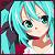 World is Mine 2 icon 50x50 by NyAppyMiku22