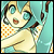 Swimsuit Miku icon 50x50 by NyAppyMiku22