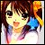 Haruhi 2 icon 50x50 by NyAppyMiku22