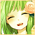 Gumi Pink Flower Icon 50x50 by NyAppyMiku22