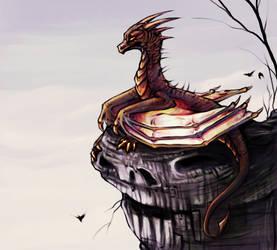 Dragon by nesskafe