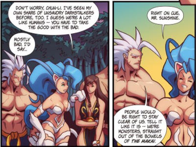 Udon's SF vs DS #2 by JonXFelicia
