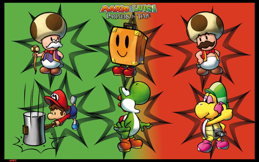 Mario Y Luigi Partners In Time By Mrttqm On Deviantart