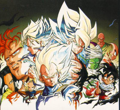 Resultado de imagem para Dragon Ball Z: Saga dos androides