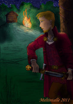 King Tirian on Stable Hill II