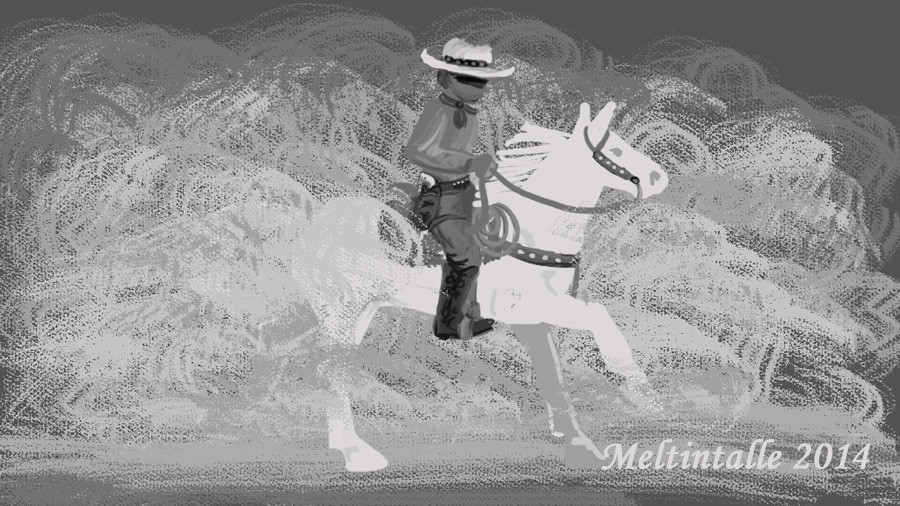 The Lone Ranger by Meltintalle