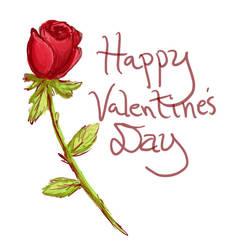 Valentine Rose by Meltintalle