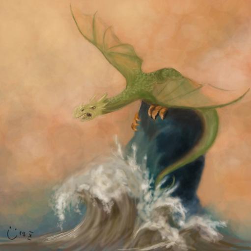 dragon by paulase
