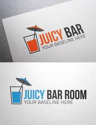 Juicy Bar Logo by Maylich