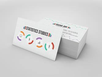 Flat Business Card by Maylich