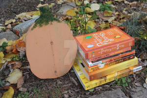 Oct. Day 22: Books and Pumpkins