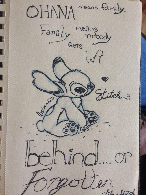 how to draw stitch sad