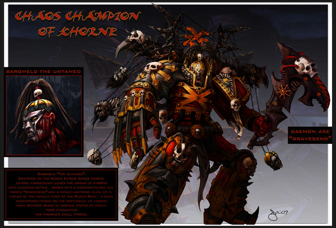 Chaos Champion of Khorne