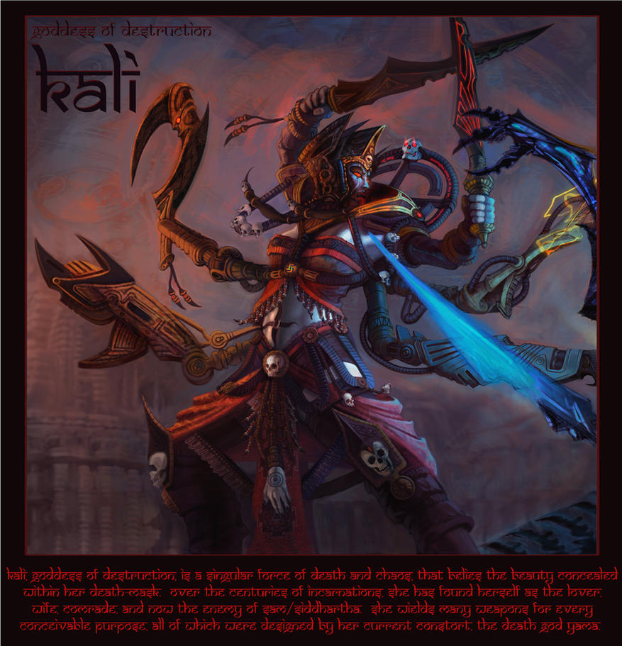 Kali Goddess of Destruction