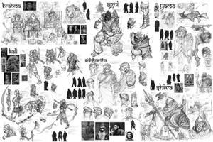 Lord of Light-idea board 1 by jubjubjedi