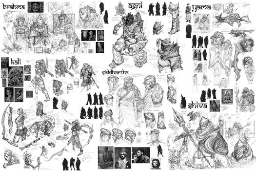 Lord of Light-idea board 1