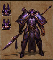 Armored Warrior by jubjubjedi