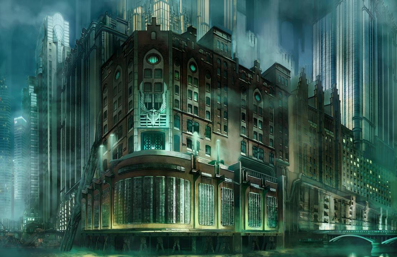 Art Deco City Concept By Jubjubjedi