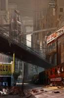New York city concept by jubjubjedi