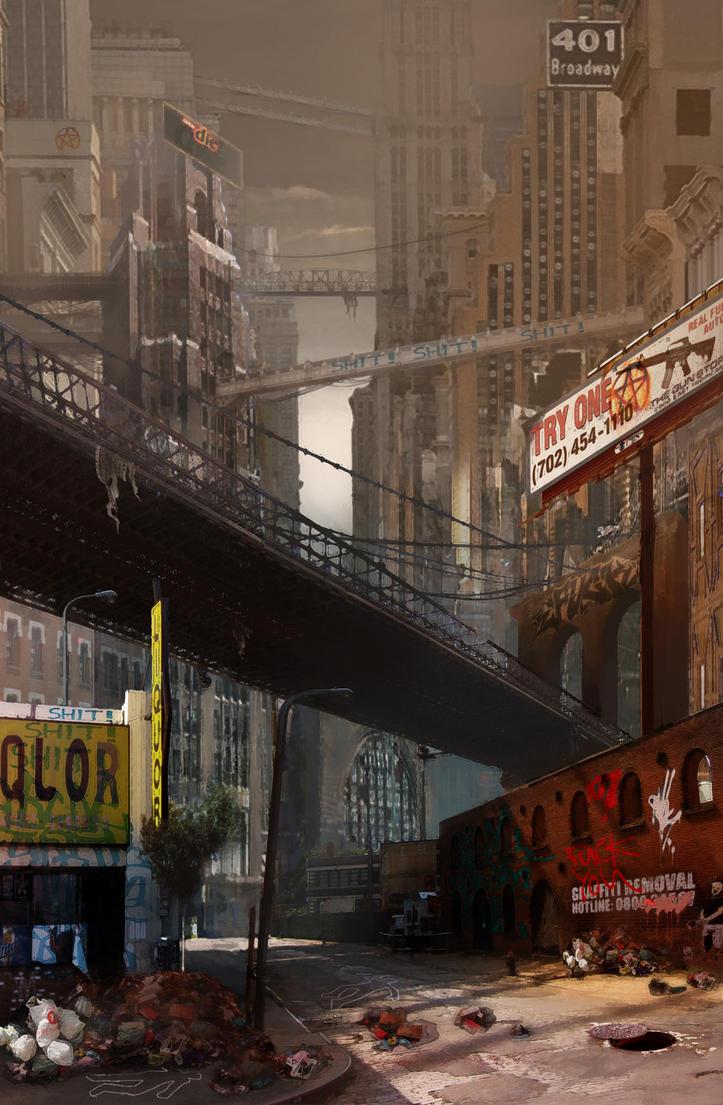 New York City Concept By Jubjubjedi On Deviantart
