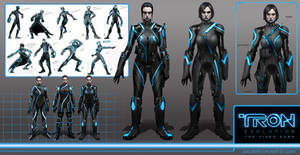Tron Evolution characters by jubjubjedi