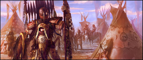Indian Warriors by jubjubjedi