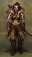 The Huntress by jubjubjedi