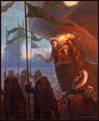 God Emperor of Dune by jubjubjedi