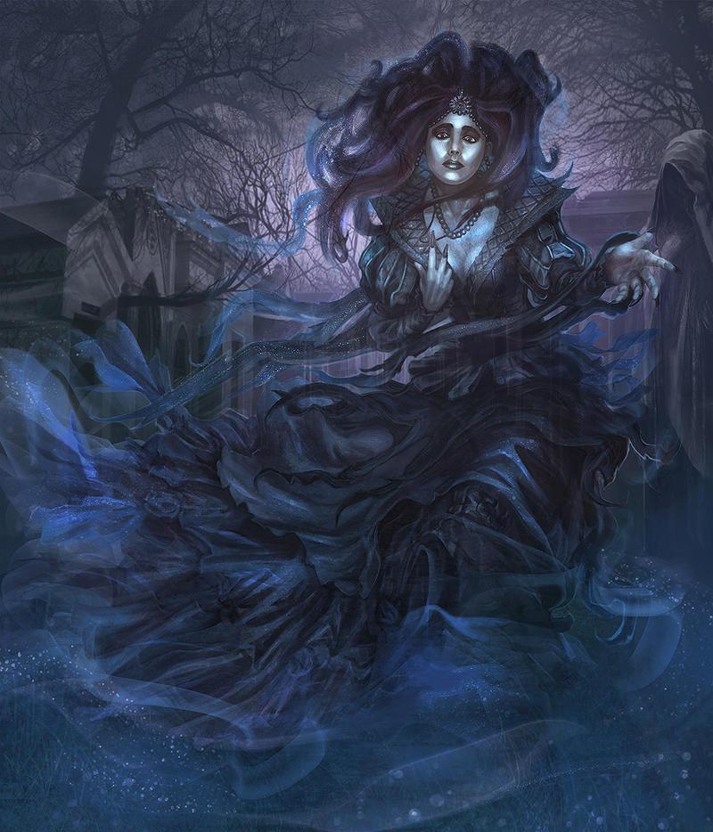 Female Ghost by jubjubjedi