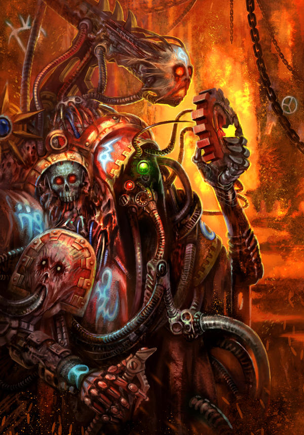 Dark Mechanicus by jubjubjedi