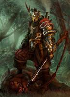 Steampunk Hunter by jubjubjedi