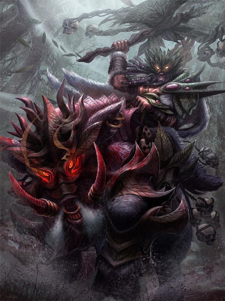 Boar Rider (Level 4) by jubjubjedi