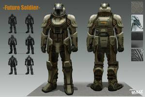 Future Soldier by jubjubjedi