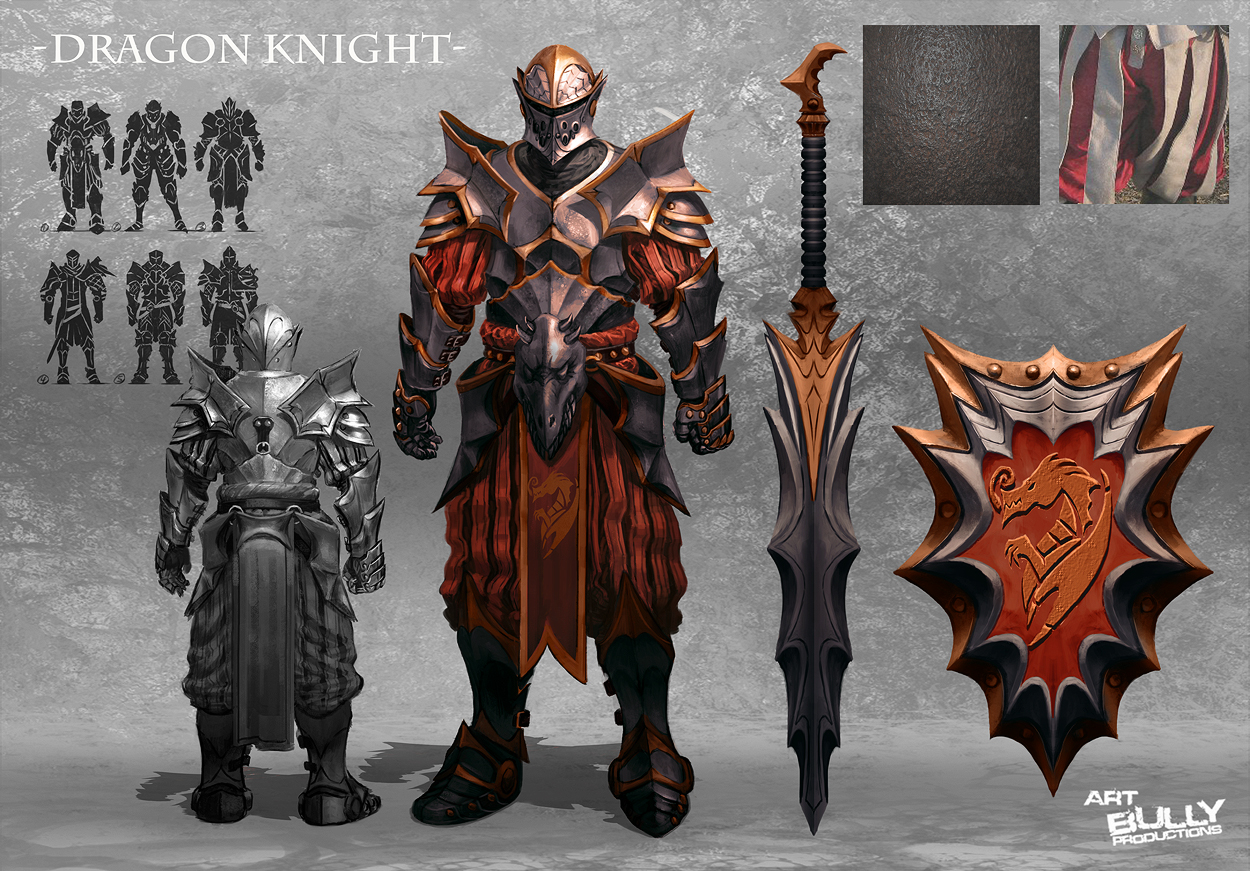 Dragon Knight by jubjubjedi