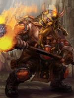 Dwarf Warrior Level 4 by jubjubjedi
