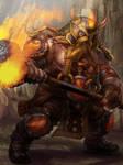 Dwarf Warrior Level 4