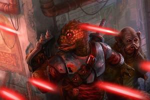 Bodyguard - Star Wars:Edge of Empire Core Rulebook by jubjubjedi