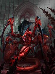 Tyranid Raveners - Warhammer 40K:Emperor's Chosen by jubjubjedi