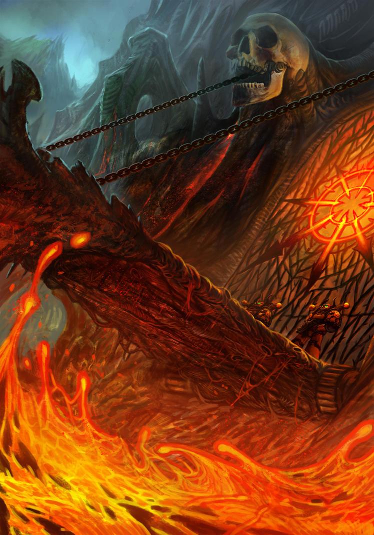 The Gate - Warhammer 40K:Emperor's Chosen by jubjubjedi on ...Warhammer 40k Chaos Gods Fanfiction